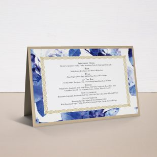 Urban Garden Tented Menu Cards