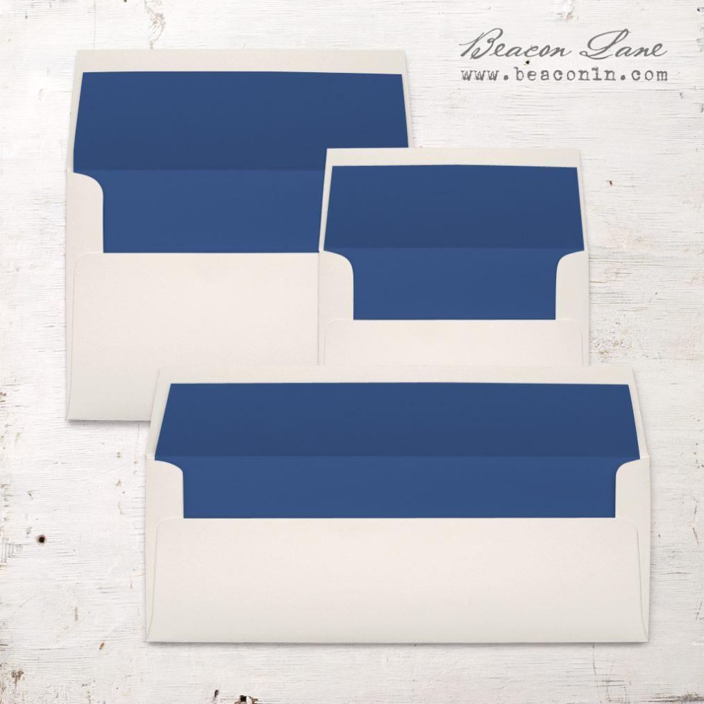 Cobalt Solid Envelope Liners