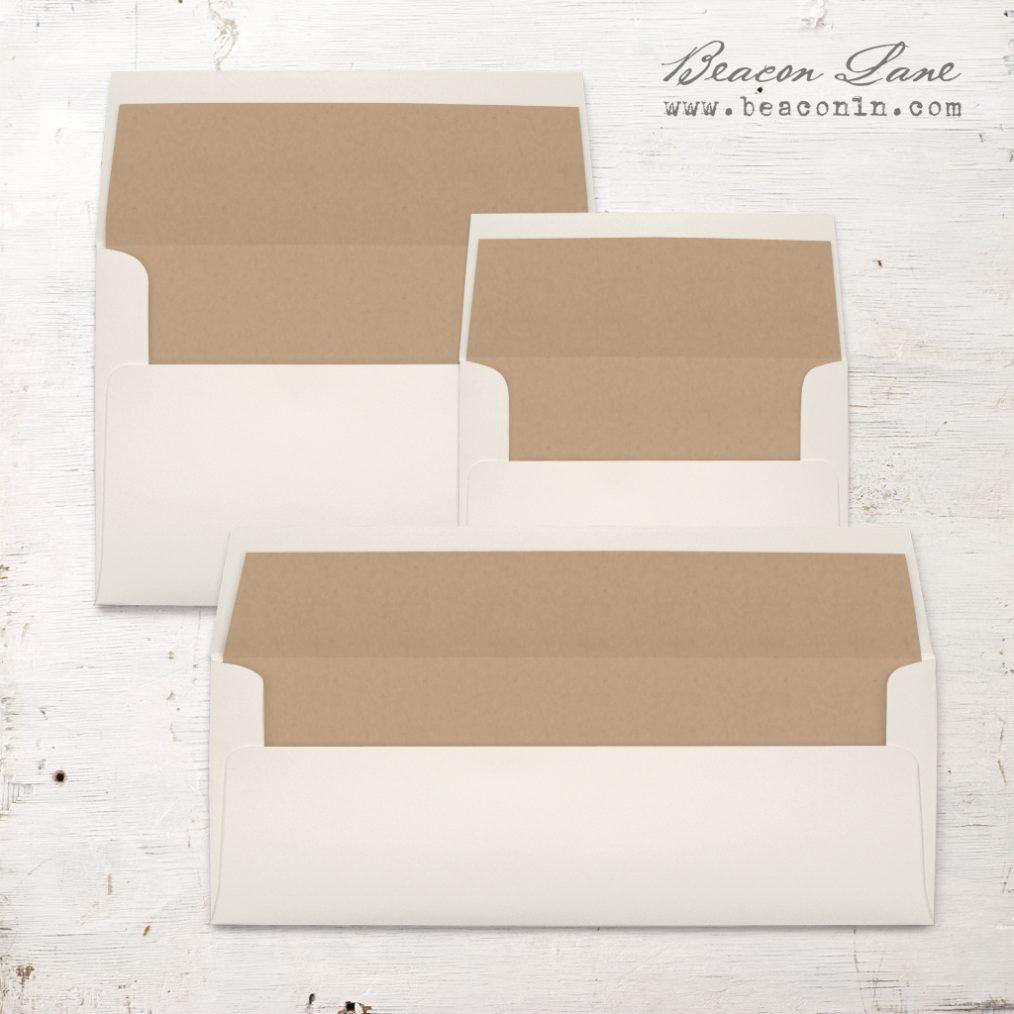 Kraft Solid Envelope Liner