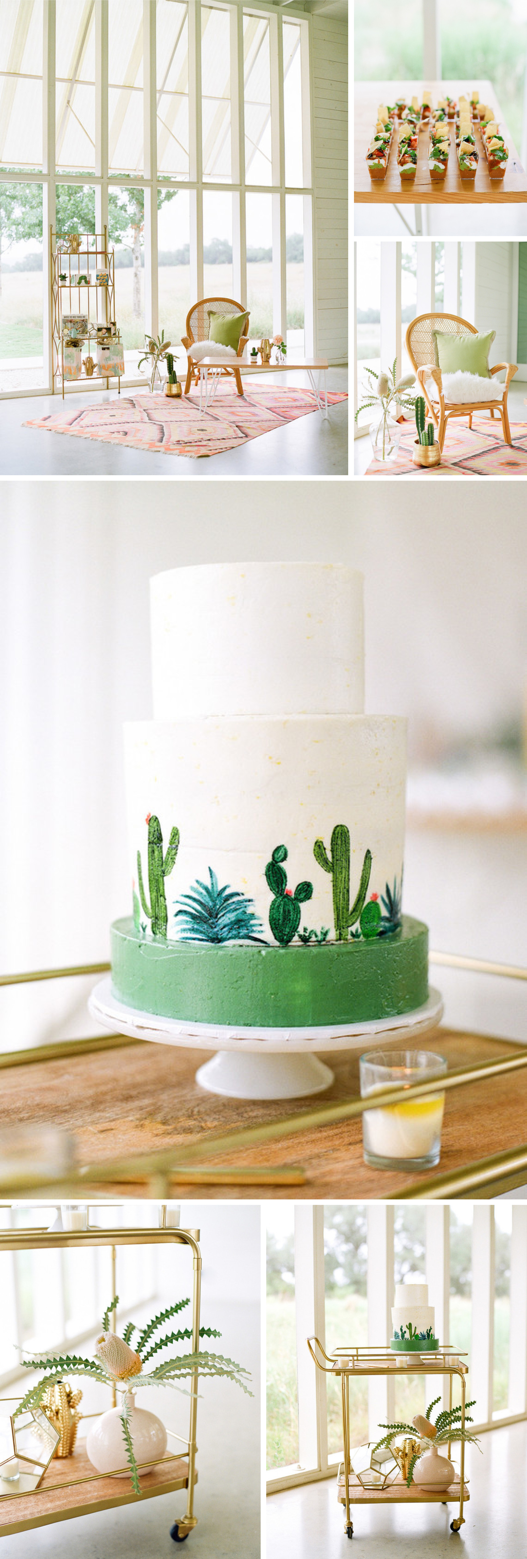 Adorable Cactus-Inspired Baby Shower