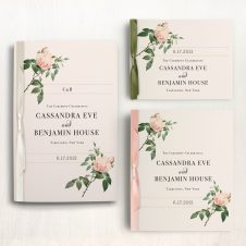 Ivory & Blush Ceremony Booklets