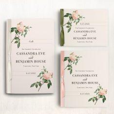 Ivory & Blush Ceremony Booklets
