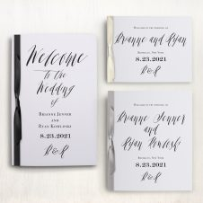 Modern Calligraphy Ceremony Booklets