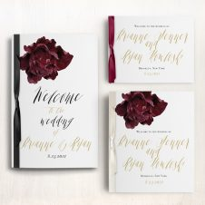 Modern Boho Ceremony Booklet