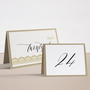 Modern Boho Tented Table Numbers