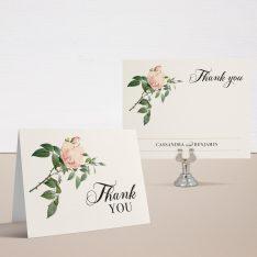 Ivory & Blush Thank You Cards