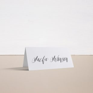 Modern Calligraphy Place and Escort Cards