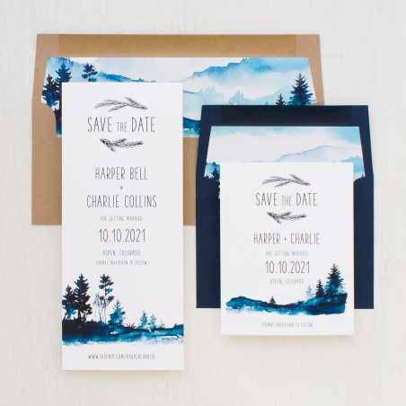 Blue Mountain Save The Dates