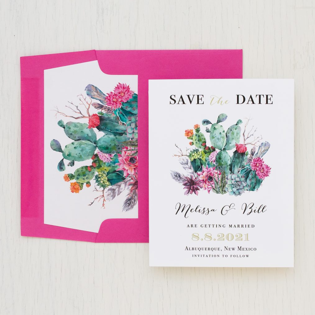 Desert Blooms Save the Dates