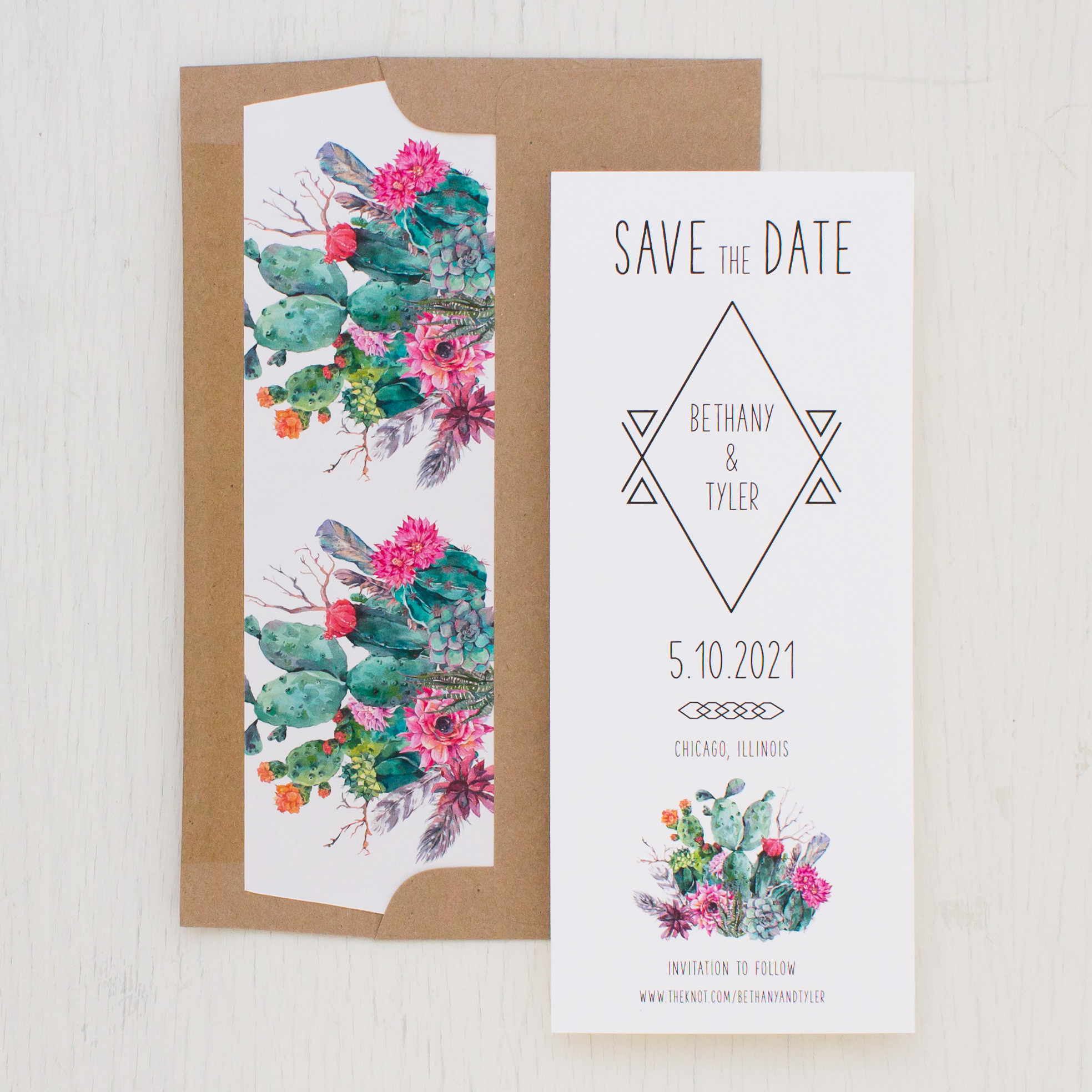Desert Blooms #2 Save the Dates