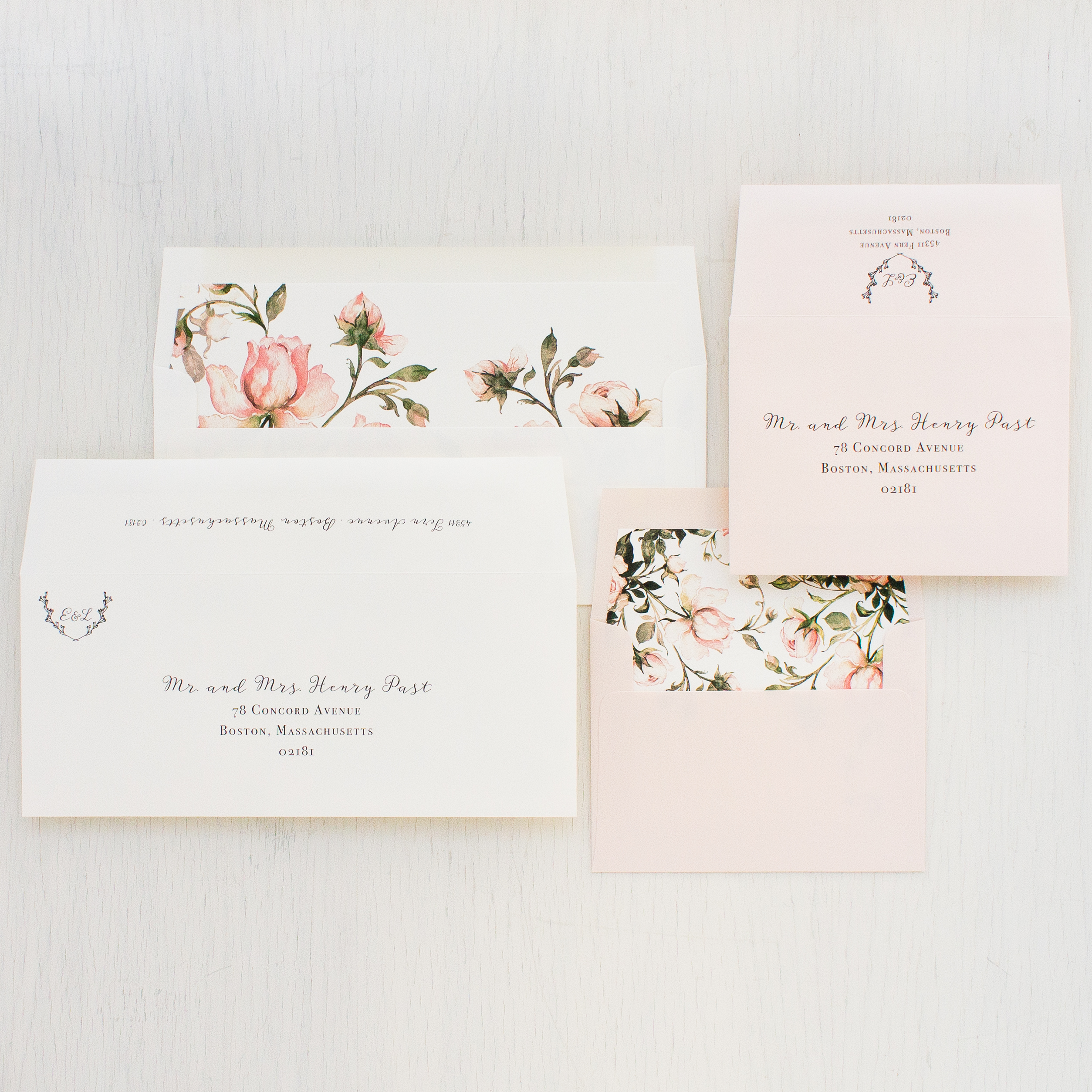 Garden Roses Save the Dates