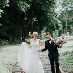 Industrial Chic Upstate New York BL Real Wedding