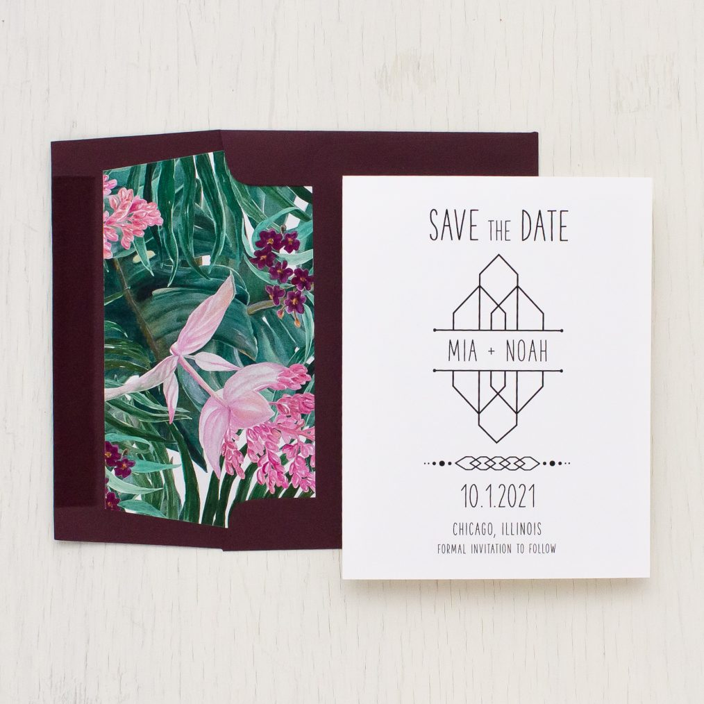 Tropical Forest Save the Dates