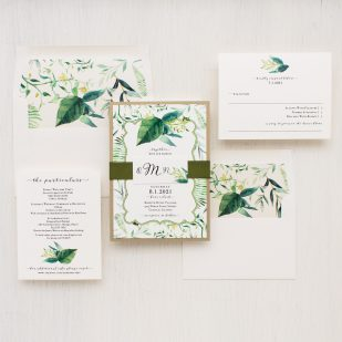 Botanical Garden Wedding Invitations
