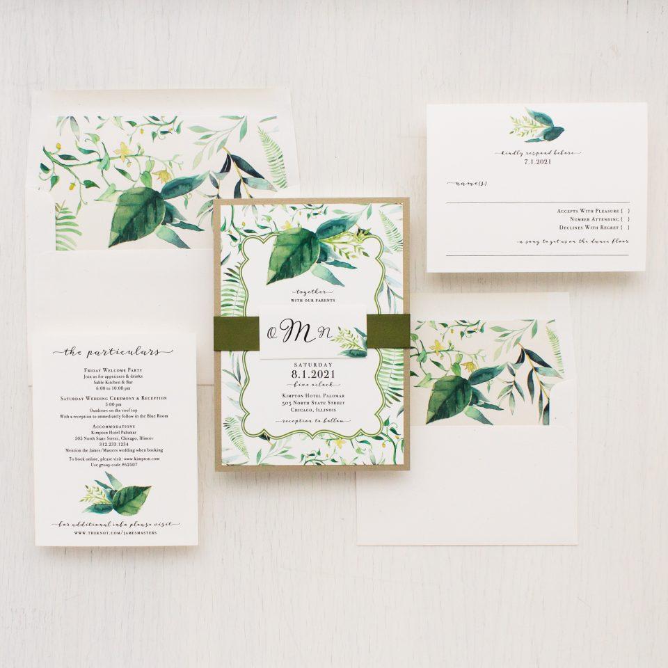 Outdoor Wedding Invitations: Beacon Lane Wedding Invitations