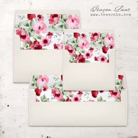 Cranberry Crush Envelope Liner