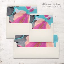 Painterly #2 Envelope Liners