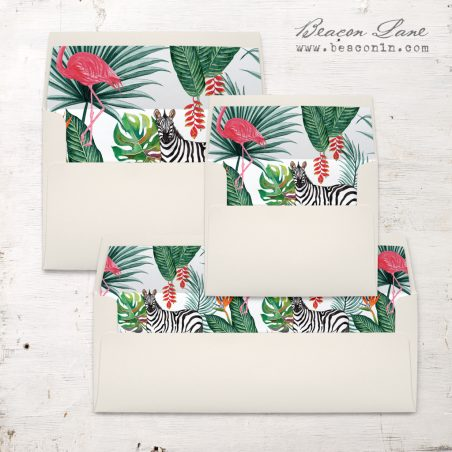Safari Fun Envelope Liners