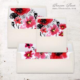 Scarlet Blooms