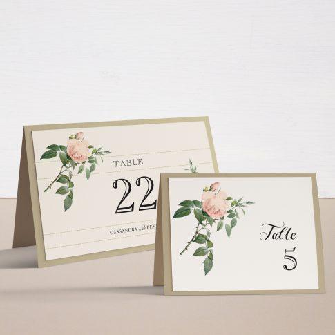 Matching Wedding Day Stationery: Ivory and Blush