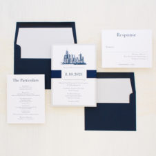 Chicago Chic Wedding Invitations