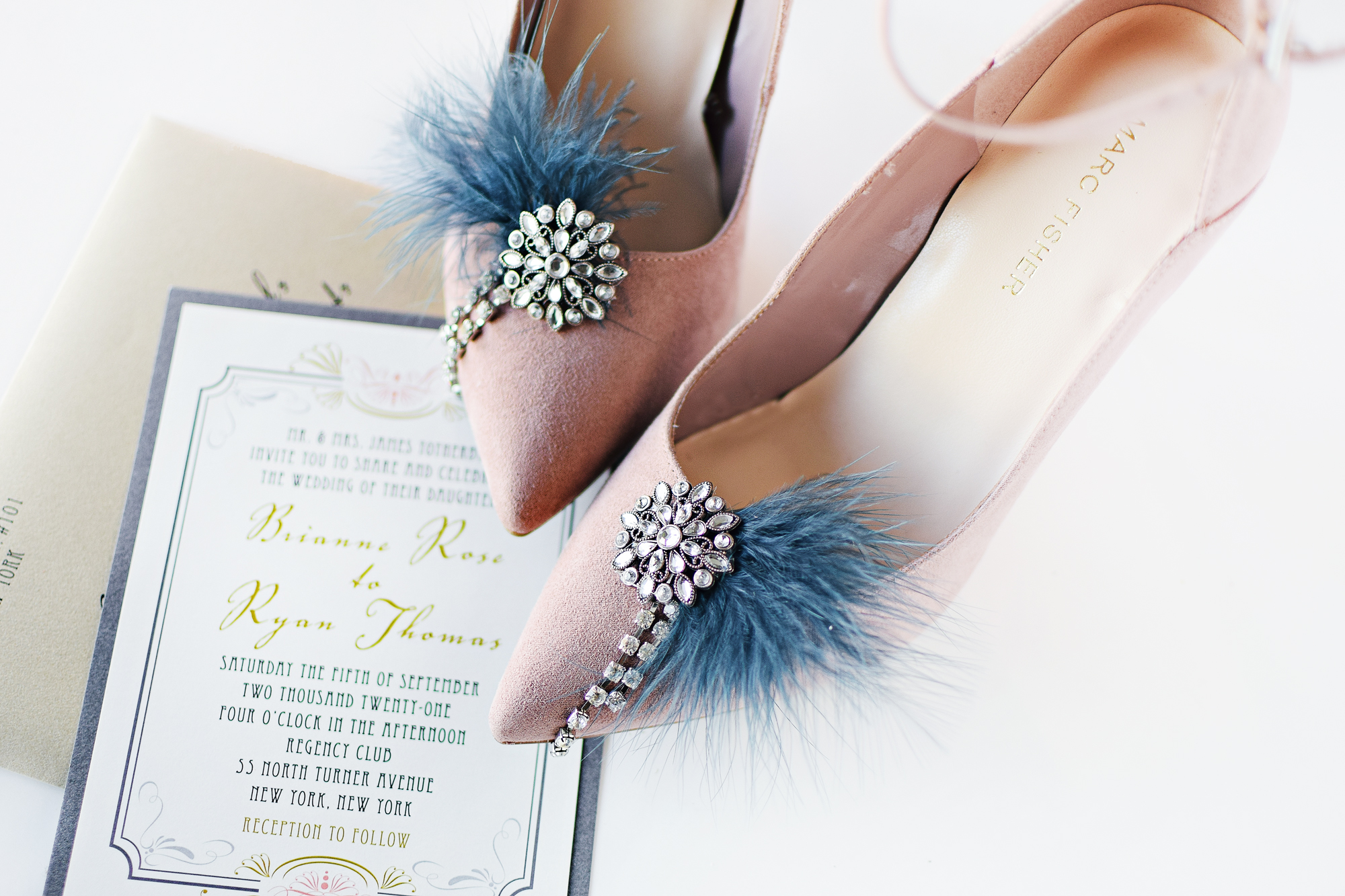 diy vintage inspired shoe clips by Beacon Lane Blog