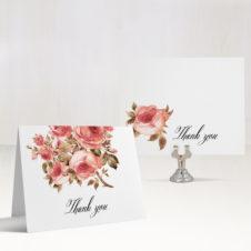 Blush Petals Thank You Cards