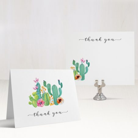 Cactus Love Thank You Cards