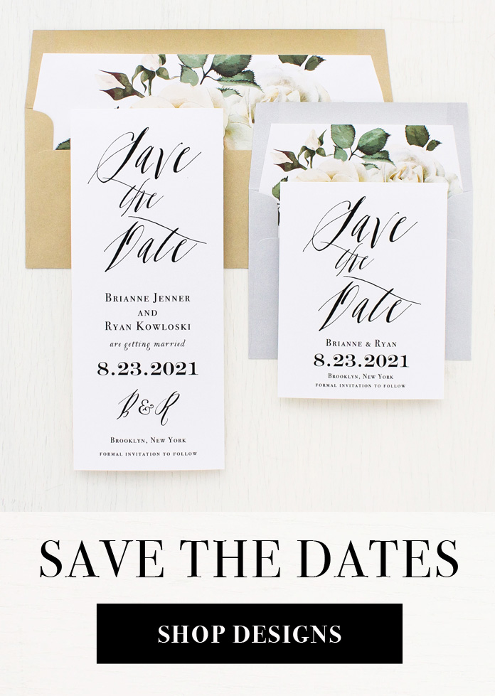 Beacon Lane Customizable Wedding Invitations Home