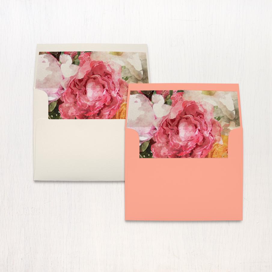 Pink Petals Thank You Cards