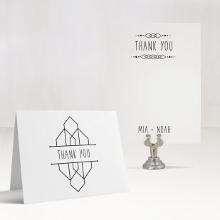 Tropical Forest Thank You Cards