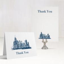 Chicago Chic Thank You Cards