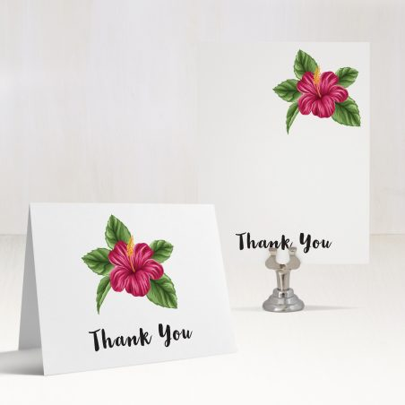 Tropical Love Thank You Cards
