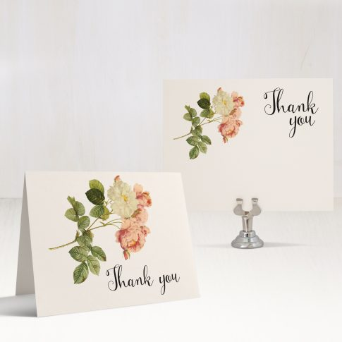 Rustic Garden Chic Thank You Cards