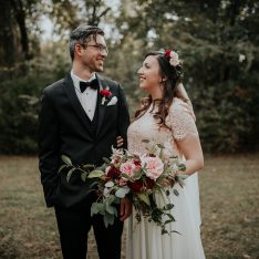 Romantic and Rustic Texas Wedding