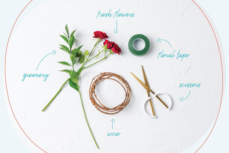 Diy garden blooms flower crown beacon lane blog izmirmasajfo