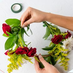DIY Garden Blooms Flower Crown