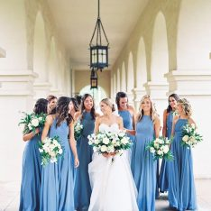 Dusty Blue Floral Inspiration