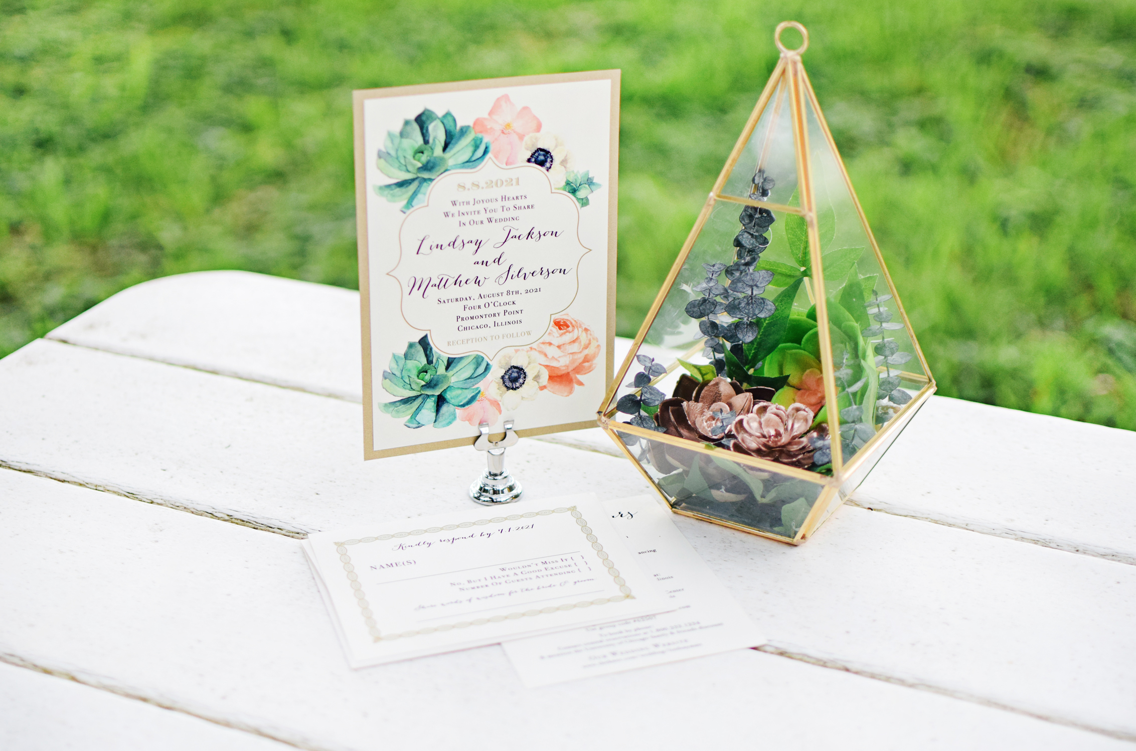 Diy Succulent Terrarium Centerpieces Beacon Lane Blog