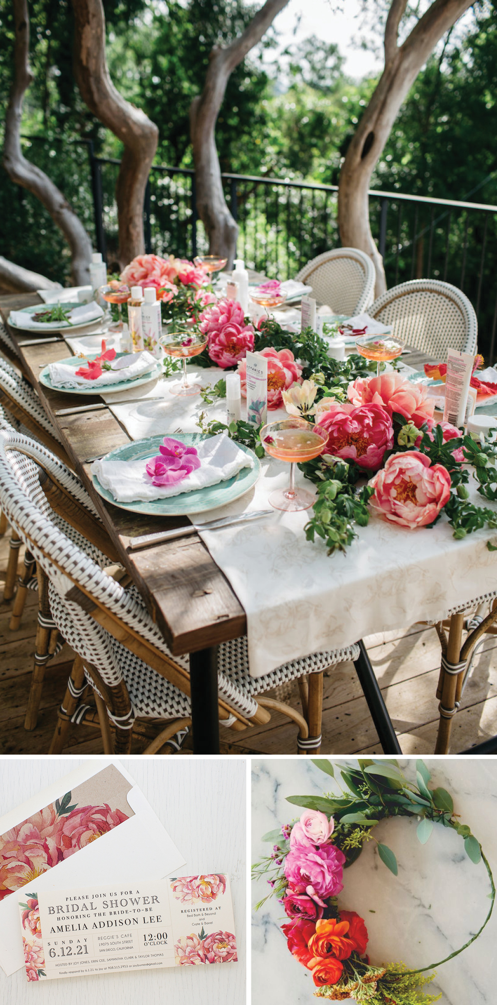 a garden party boho bridal shower is a trend were absolutely loving its a fresh and modern take on bohemian style with vibrant colors and floral