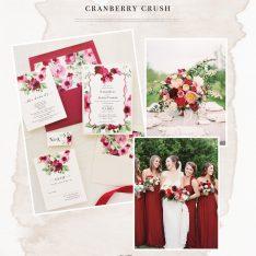 Burgundy Red Wedding Inspiration