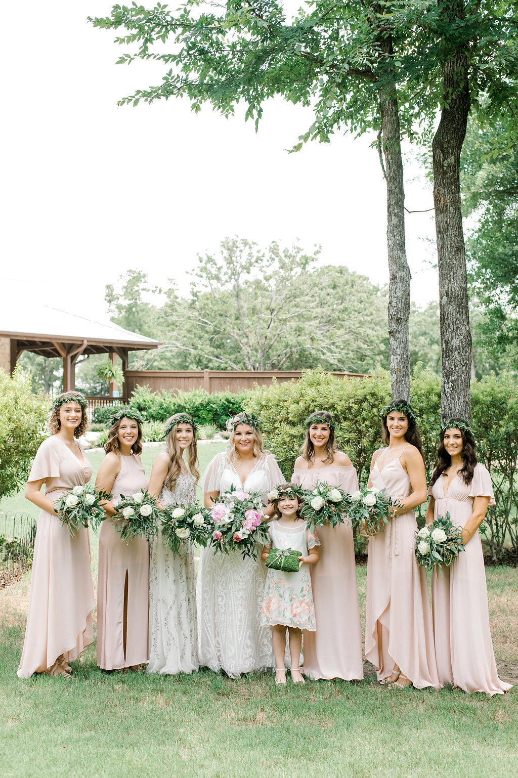 Blush Succulent Boho Garden Wedding Beacon Lane