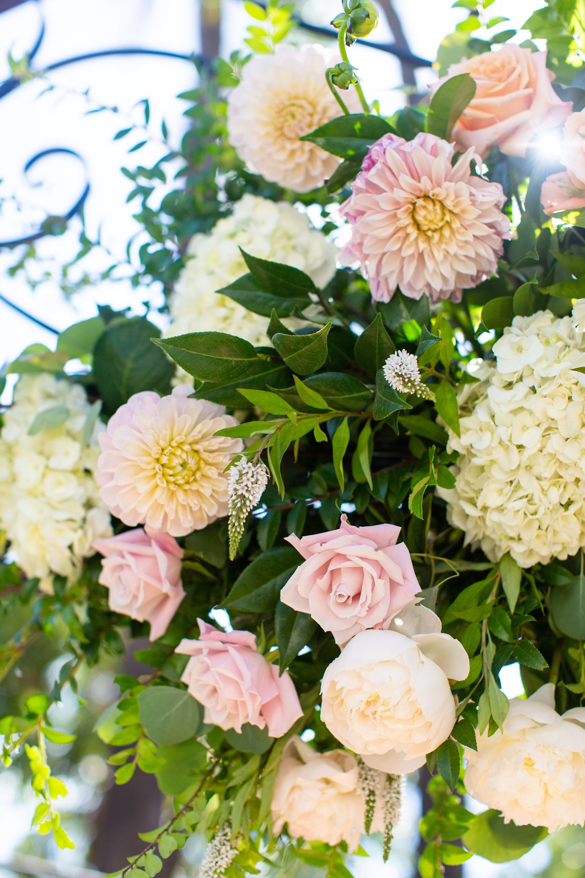 Classic Blush Mansion Wedding