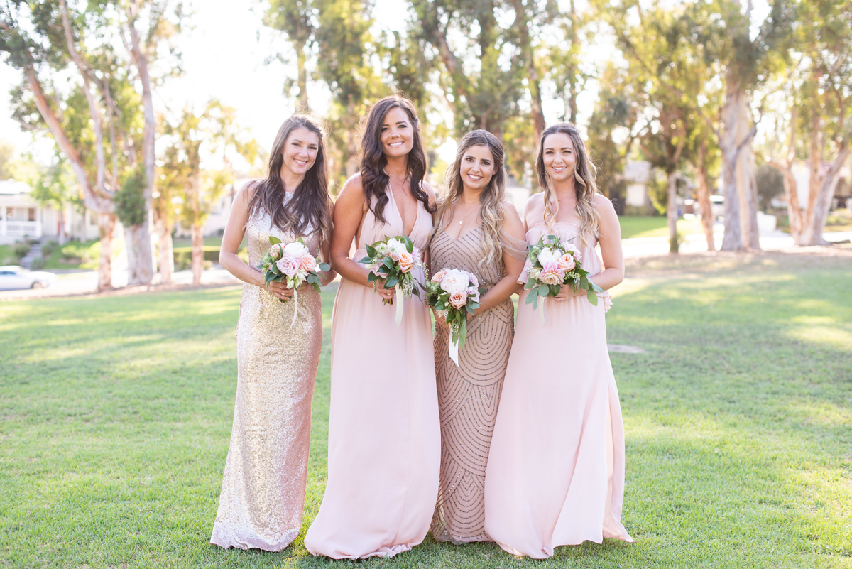 Classic Blush Mansion Wedding