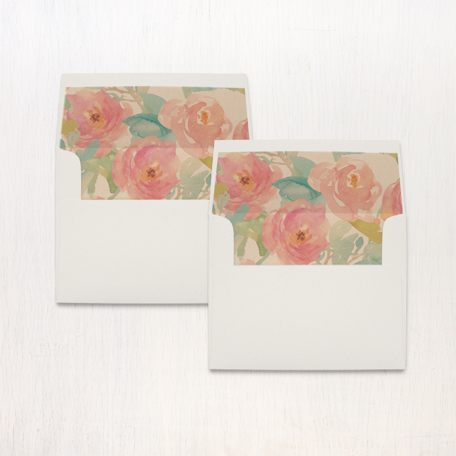 Watercolor Pastel Bridal Shower Thank You Cards