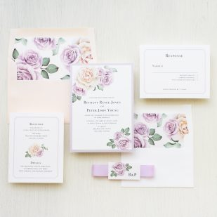 Whimsy Garden #2 Wedding Invitations