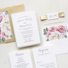 Dusty Rose Garden Wedding Inspiration