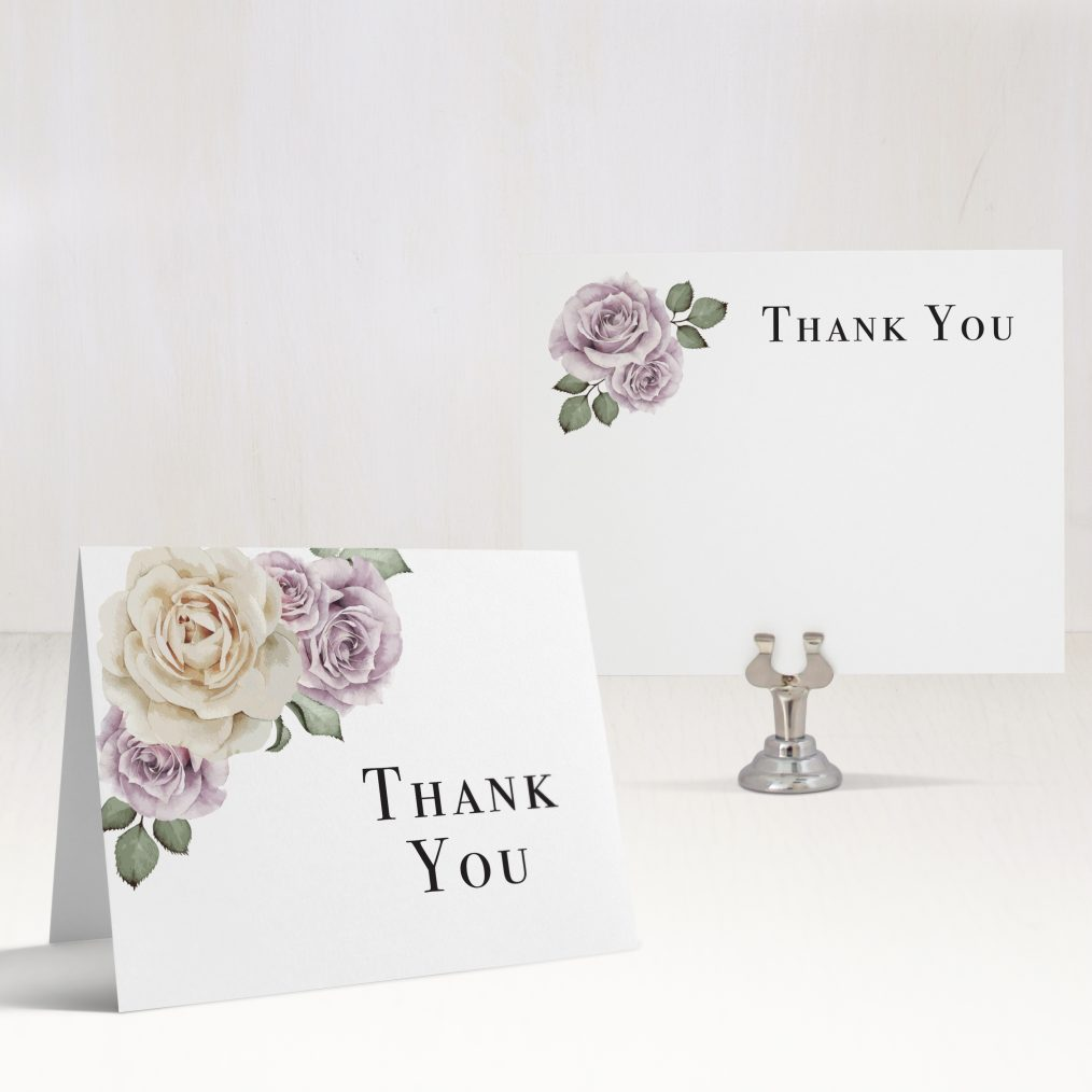 Whimsy Garden Thank You Cards