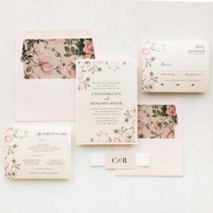 Garden Roses #2 Wedding Invitations