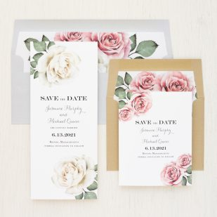 Casual Calligraphy Save the Dates